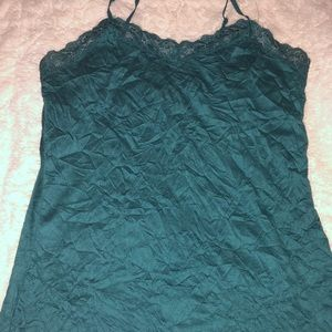 Coldwater Creek Tops - COLDWATER CREEK TANKTOP GREEN SIZE EXTRA SMALL